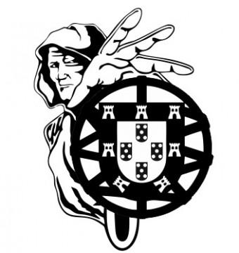 Autocolante - Homem - Escudo de Portugal