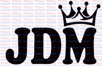 Autocolante - JDM Coroa