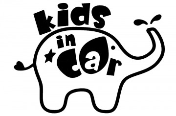 Autocolante - Kids In Car