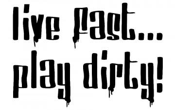 Autocolante - Live fast play drift
