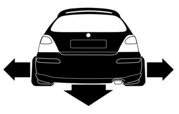 Autocolante - MG zr, rover 200 25