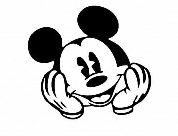 Autocolante - Mickey