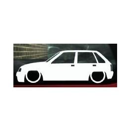 Autocolante - Opel Corsa A 5 Portas
