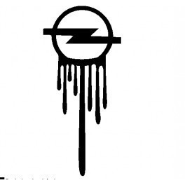 Autocolante - Opel Mancha