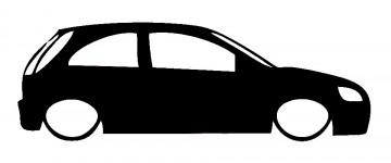 Autocolante para Opel Corsa C