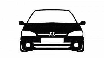 Autocolante para Peugeot 106 mk2