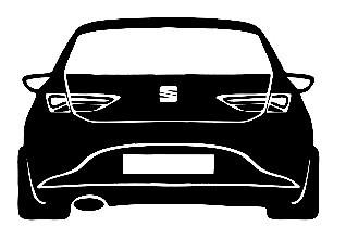 Autocolante para Seat Leon 5F
