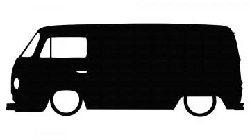 Autocolante para VW Bus type 2