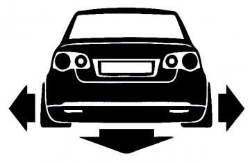 Autocolante para VW JETTA