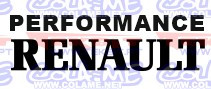 Autocolante - Performance Renault