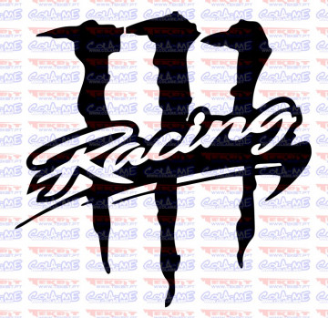 Autocolante - Racing Monster