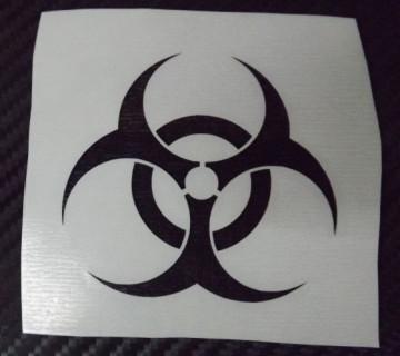 Autocolante - Radioativo