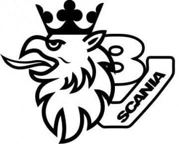 Autocolante- Scania V8