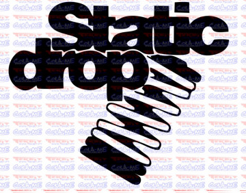 Autocolante - Static Drop