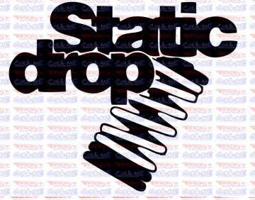 Autocolante - Static Drop