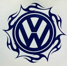 Autocolante - tribal vw
