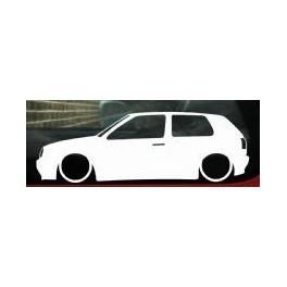Autocolante - Volkswagen Golf III