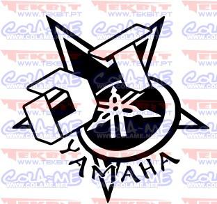 Autocolante - Yamaha DT