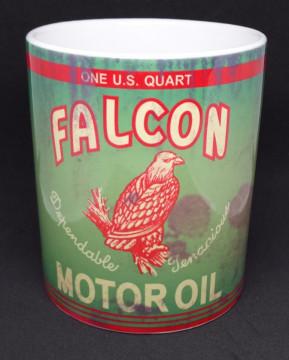 Caneca com Falcon  Motor Oil