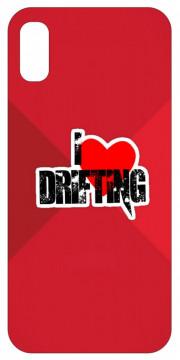 Capa de telemóvel com I Love Drifting