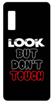 Capa de telemóvel com Look But Don't Touch