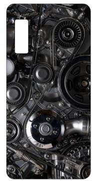 Capa de telemóvel com Motor