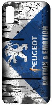 Capa de telemóvel com Peugeot- retro