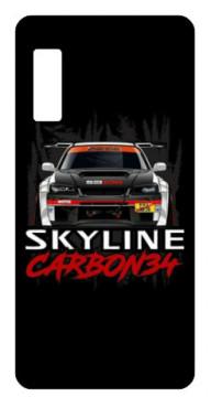 Capa de telemóvel com Skiline Carbon 34