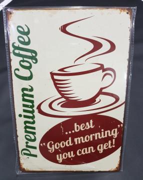 Chapa decorativa com Premium Caffe