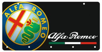 Chaveiro em Acrílico com Alfa Romeo