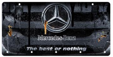 Chaveiro em Acrílico com Mercedes