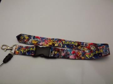 Fita Porta Chaves com Sticker Bomb Pokémon