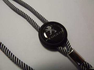 Fita Porta Chaves (lanyard) de Pescoço Ajustável para Peugeot