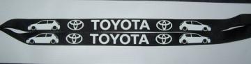 Fita Porta Chaves para Toyota Corolla 3 Portas