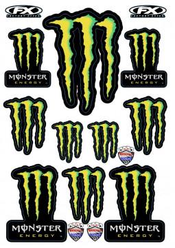 Folha / Pack de Autocolantes - Monster