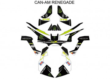 Kit Autocolantes Para - CAN AM - Renegade