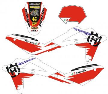Kit Autocolantes Para  Husqvarna TXC 450 2009