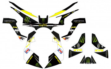 Kit Autocolantes Para Moto - CAN AM - Renegade