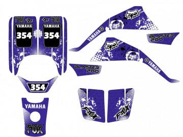 Kit Autocolantes Para Yamaha Blaster 200