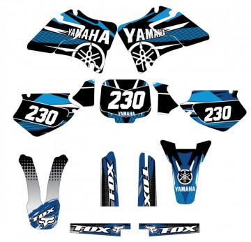 Kit Autocolantes Para Yamaha YZ / WR 125 / 250 - 96-01