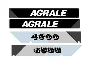 Kit de Autocolantes para Agrale 4300
