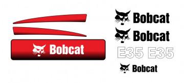 Kit de Autocolantes para BobCat E35