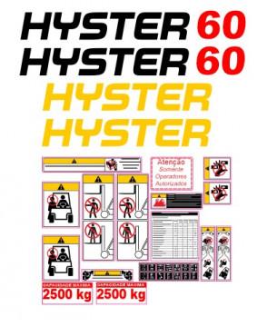 Kit de Autocolantes para HYSTER 60