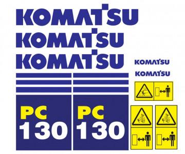 Kit de Autocolantes para KOMATSU PC130