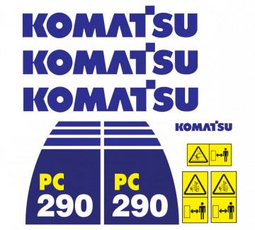 Kit de Autocolantes para KOMATSU PC290