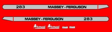 Kit de Autocolantes para Massey Ferguson 283