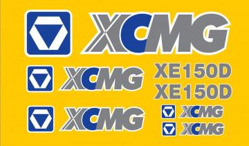 Kit de Autocolantes para XCMG XE150D