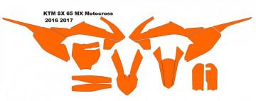 KTM SX 65 MX Motocross 2016 2017