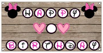 Lona de Aniversário - Happy Birthday