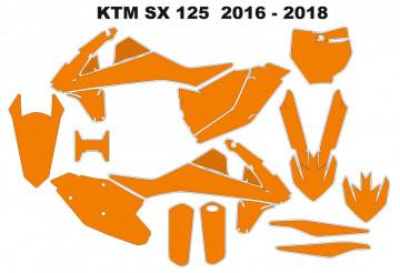 Molde - KTM SX 125 2016 - 2018